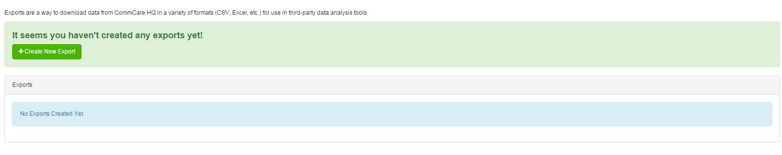 Form Data Export - CommCare Public - Dimagi Confluence