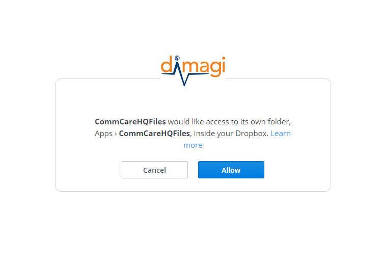 Syncing Downloads to Dropbox - CommCare Public - Dimagi Confluence