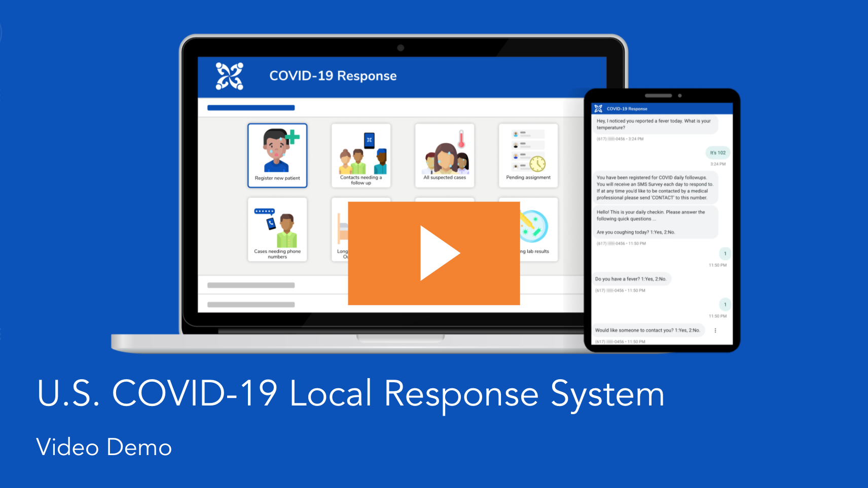 Click here to view a demo of the US COVID-19 Local Response System